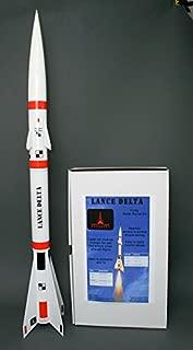North Coast Rocketry Flying Model Rocket Kit Lance Delta