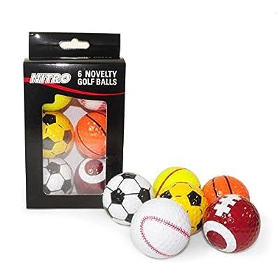 Nitro Novelty Golf Balls