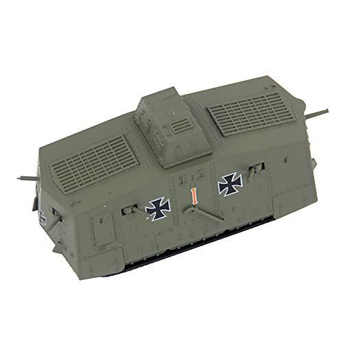 Clicked Militär Modell Tankerster Weltkrieg Deutscher Schwerer Panzer A7V Material EIN Geschenk Für Militärbegeisterte