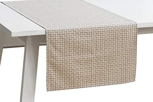 Pichler Tischwäsche Serie 'Bob', Beton, Größe:Tischläufer 50 x 150 cm