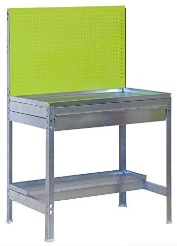 Simonrack BT2 tuintafel groen/verzinkt 1440 x 900 x 400 mm draagkracht 400 kg