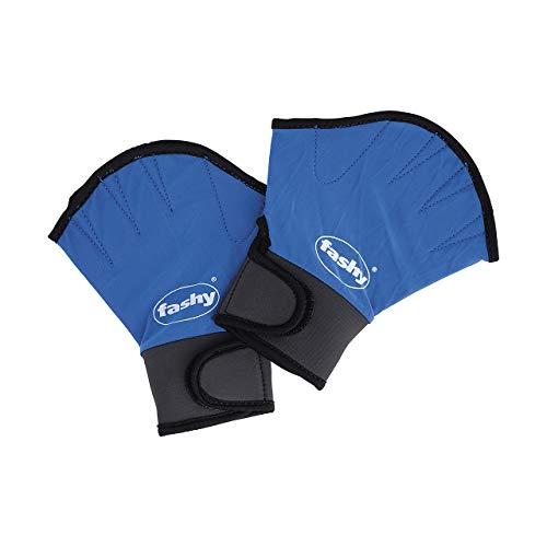 Fashy Aqua Handschuhe, blau/schwarz, M, 4462 M
