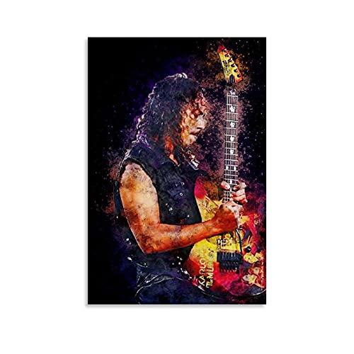 XUWEIX Kirk Hammett Poster decoraties Poster Decoratief Schilderen Canvas Muur Art Woonkamer Posters Slaapkamer…
