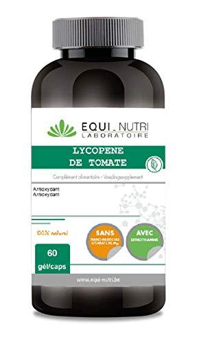 Equi-Nutri Lycopène de Tomate 25 mg Antioxydants Caroténoïdes
