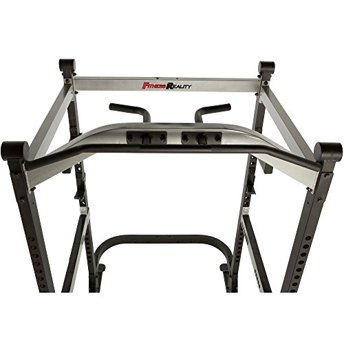Fitness Reality X-Class Light Commercial High Capacity Olympic Power Cage, Without Lat Pull-Down Attachment