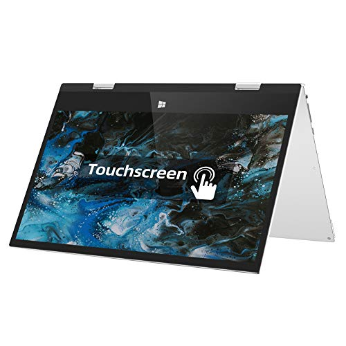 Jumper 11.6 inch Touch screen Laptop 6GB DDR3 128GB ROM, 360 Degree Convertible Tablet PC Windows 10 small laptop Intel Celeron Quad core processor Supports 256GB TF Card Expansion