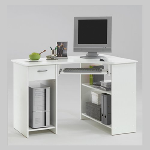 Terrific White Corner Desks Amazon Co Uk Interior Design Ideas Gresisoteloinfo