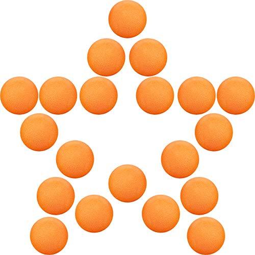 Total 24 Foam Balls For Poppers and Power Popper Toys 2 Packs of 12 Hog Wild Orange Popper Refill Balls Age 4+
