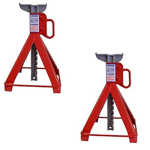 US JACK D-41610 6 Ton Garage Stands 100% Made in USA