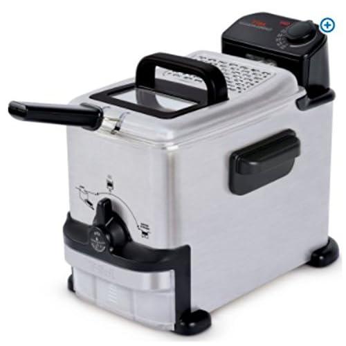 Amazon.com: T-fal, FR702D51, EZ Clean Deep Fryer 1.8 L, Stainless Steel: Kitchen & Dining