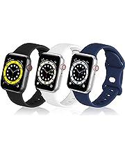 MNBVCXZコンパチブル apple watch バンド, スポーツ シリコンバンド通気性 アップルウォッチ ベルトコンパチブル iwatch SE ,Series 6/ 5/4/3/2/1に対応