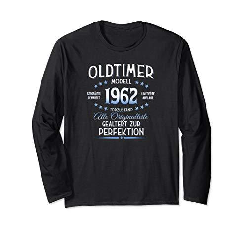 58. Geburtstag Geschenk Oldtimer Jahrgang 1962 Langarmshirt