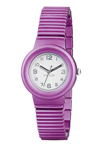 Reloj HIP HOP por Mujer Aluminium con Correa de Aluminio, Movimiento Time Just - 3H Cuarzo