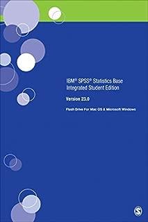 SAGE IBM?? SPSS?? Statistics v23.0 Student Version (2016-04-20)
