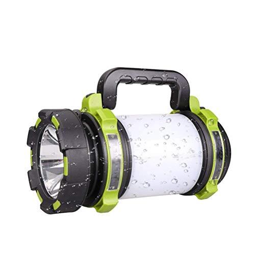 BOFEISI Torche Rechargeable de LED, Lampe-Torche élevée de Faisceau de Puissance élevée portative imperméable Lumineuse Superbe de Camping de Camping Multi-Fonctionnel, Batterie 2600mAh