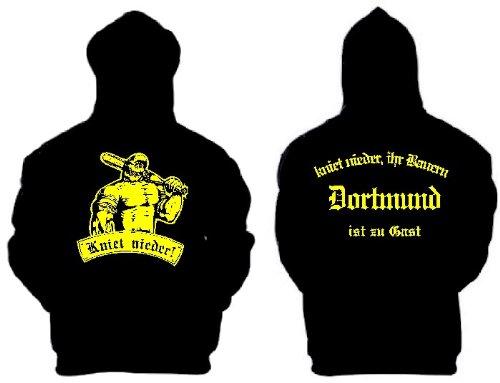 world-of-shirt Dortmund kniet nieder Ihr Bauern Kapuzensweat Hoodie BB69|KT4