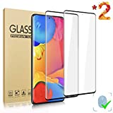 LETANG Galaxy S20 Plus 5G (6.7 inch) Screen Protector, [Lifetime Replacement Warranty] [Tempered Glass] [3D Full Coverage] [Fingerprint Unlock] Film for Samsung Galaxy S20 Plus/S20+ [2 Pack]
