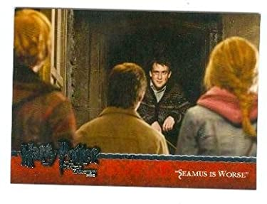 Harry Potter trading card Deathly Hollows Part 2 #34 Harry Potter, Hermione, Neville, and Ron