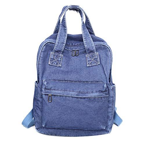 Picapoo Mochila de mezclilla vintage para viajes escolares, bolsas de hombro para adolescentes y niñas, regalos de Pusheen The Cat   mochila   cosas lindas   mochila grande