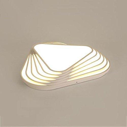 GPZ-iluminación de techo Nuevo Diseño de Luz de Techo Moderno DIY Triángulo Led Dormitorio Lámpara de Techo Nórdica Sala de estar Lampara Inicio de Uso Interior [Clase energética A ++]