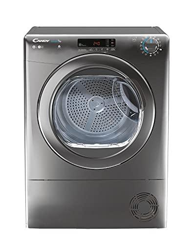 Candy CSOE C10DCGR-80 Freestanding 10Kg Condenser Tumble Dryer, Easy empty, Smart WIFI, White