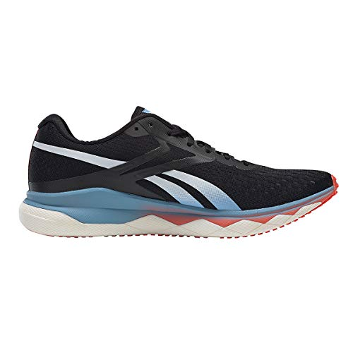 Reebok Men's Floatride Run Fast 2.0, Black/Blue/Orange, 8.5 Medium