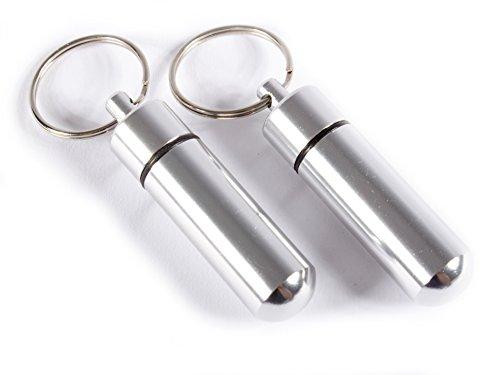 2 * Minipastillero de aluminio tipo llavero