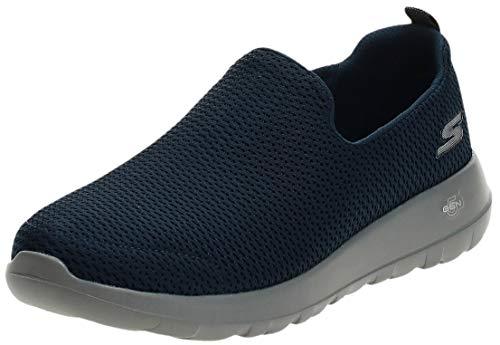 Skechers Men's Go Walk Max-Athletic Air Mesh Slip on Walkking Shoe Sneaker,Navy/Gray,10.5 X-Wide US