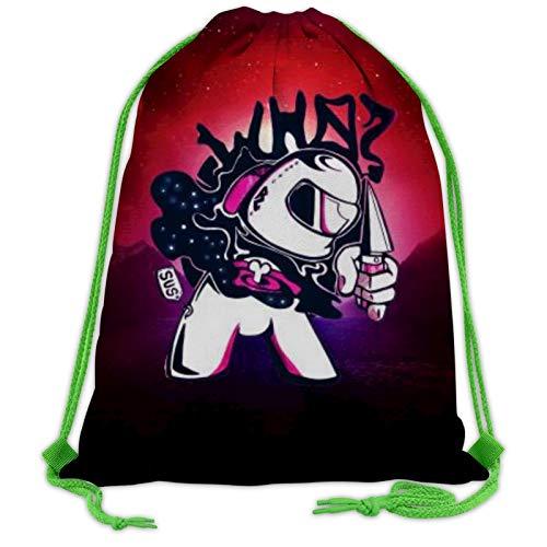 208 A-monG Us - Mochila con cordón para escuela, gimnasio, bolsa deportiva