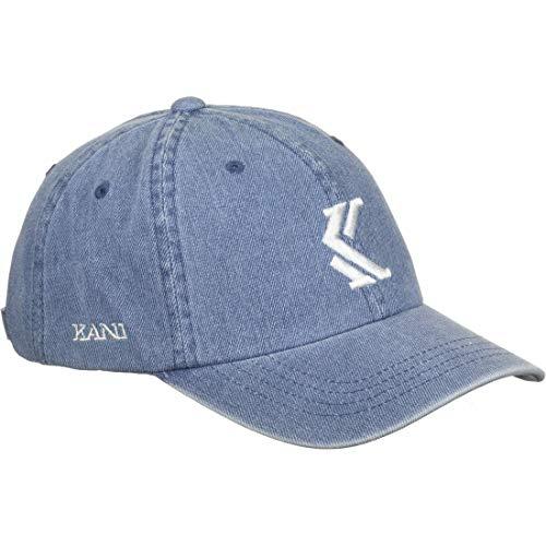 Karl Kani Denim Cap Blue/White