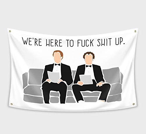 The Interview Banner Flag 3x5Feet for College Dorm Frat or Man Cave