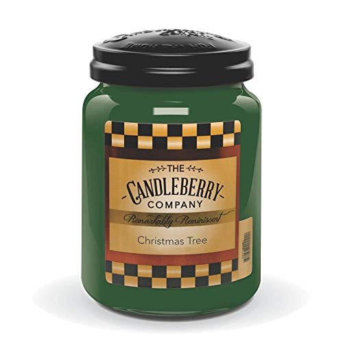 Candleberry Candles   Christmas Tree Candle   Best Candles on The Market   Hand Poured in The USA   Highly Scented & Long Lasting   Large Jar 26 oz