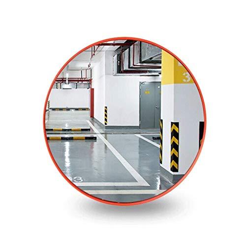 TTWUJIN Lente de Gran Angular Del Tráfico Exterior, Espejo de Seguridad Supermercado Centro Comercial Panorámico Anti-Robo Espejo el Material de Pc de Cruce de Estacionamiento - Ajustable, Adecuado p
