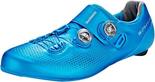 Shimano SH-RC901 - Zapatillas Hombre - Wide Azul Talla del Calzado EU 44 Wide 2019