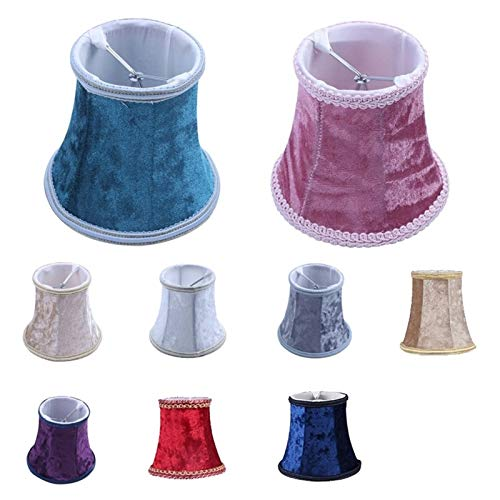 Fácil de instalar lámparas de pared es ideal para Clip Tela En Pantalla de lámpara, estilo europeo E14 hecha a mano Pantalla for moderna lámpara de pared de la lámpara, lámpara de cristal, lámpara de