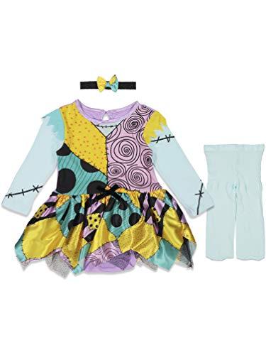 Disney The Nightmare Before Christmas Bodysuit Baby Girls Costume Dress 18-24 Months