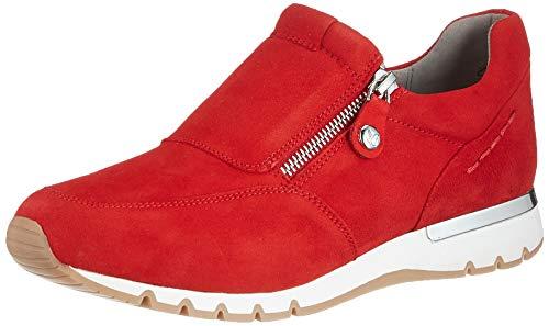 CAPRICE Damen 9-9-24703-26 Sneaker, RED Suede, 36 EU