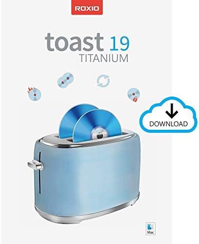 Roxio Toast 19 Titanium CD DVD Burner for Mac Disc Burning File Conversion Multimedia Suite product image