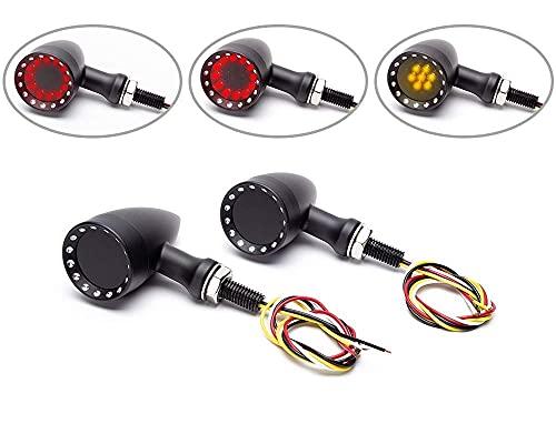 Moto Frecce LED - Posteriore Con Integrato Stop E Fanale Posteriore Per Custom Retro Project