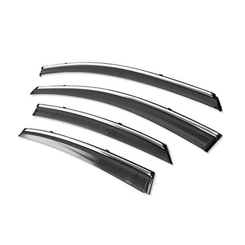 SYJY-SHOP Car Styling Windabweiser/Regen Schild/Windschutz nur for Mazda / 2/3/6/8 / CX-5 / CX-7 / Atenza/Axela Fenster Deflektoren Autofenster Visier (Farbe : for Mazda2 07-12)