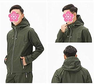Qivor Waterproof clothing Raincoat Rain Pants Set Adult Set Fashion Split Raincoat Waterproof Outdoor Hiking Raincoat - Su...