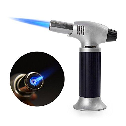WINOMO Feu multifonction brûleur pistolet flamme Maker plus léger ustensiles de cuisine pour le plein air (noir)
