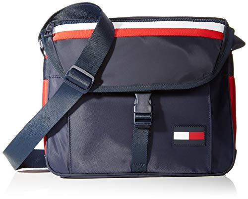 Tommy Hilfiger Herren Sport Mix Messenger Corp Business Tasche, Blau (Corporate)