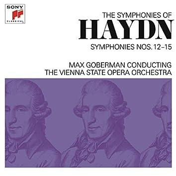 Haydn: Symphonies Nos. 12-15