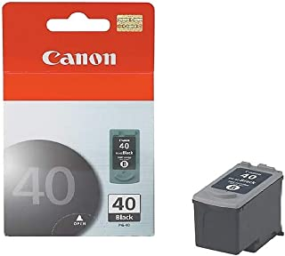 Canon PG40 40 OEM Ink Cartridge: Black Yields 500 Pages