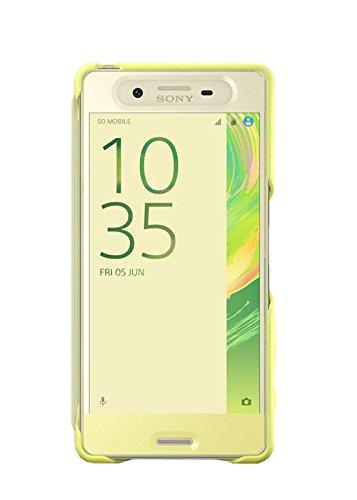 Sony SCR50 - Funda con solapa activa para Sony Xperia X, lima