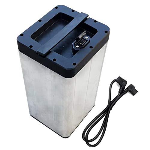 LeiQuanQuan Batterie au Phosphate de Fer au Lithium 48V 20AH pour véhicule électrique Moto...