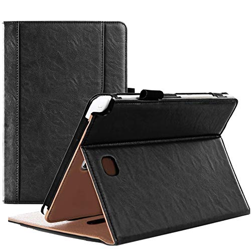 ProCase Galaxy Tab A 8.0 Case (2015 Old Model) - Standing Cover Folio Case for 2015 Galaxy Tab A Tablet (8.0 inch, SM-T350 P350) -Black