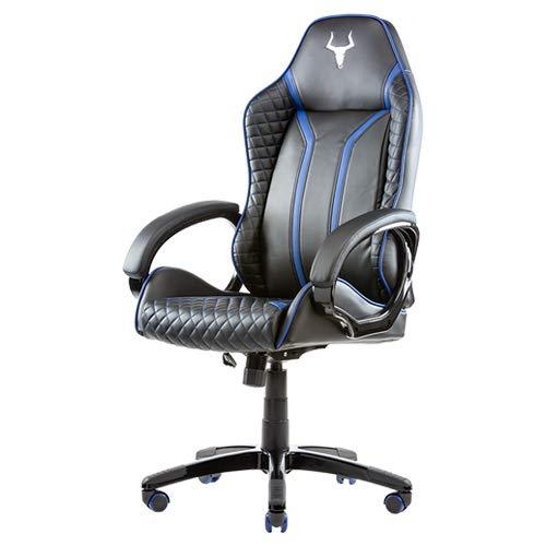 Itek Gaming Chair Taurus P4 - Piel sintética, Color Negro y