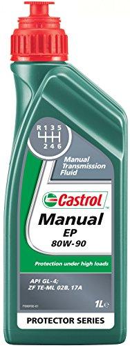 Castrol 18965600 Manual EP - Aceite de transmisiones manuales (80W-90, 1 l)